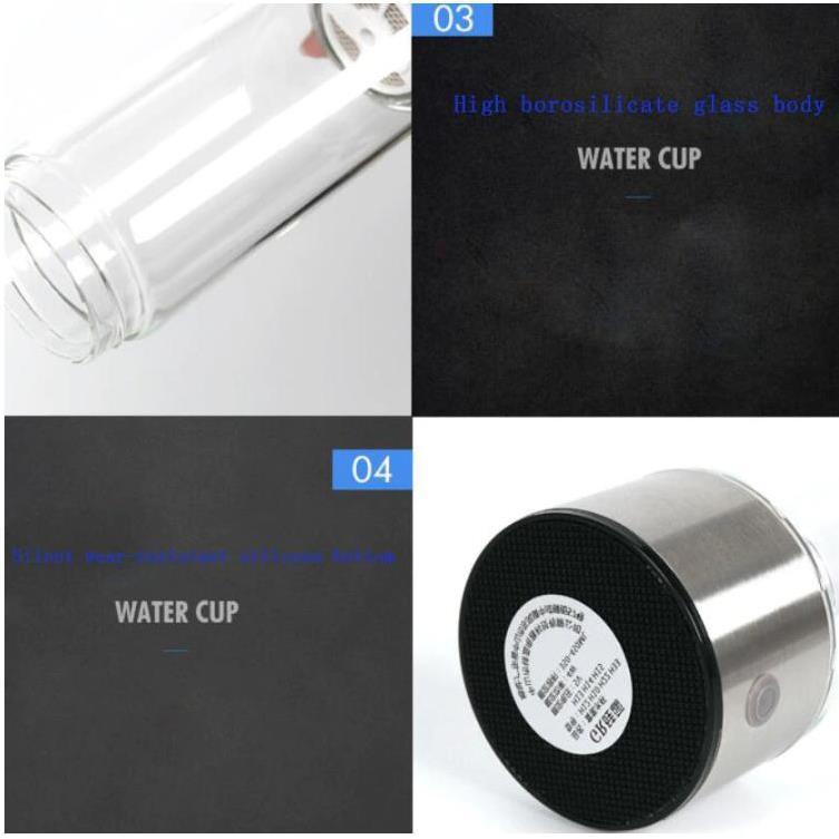 Máy tạo nước ion Kiềm giàu Hydrogen 430ml BPA FREE- Tốt cho sức khỏe