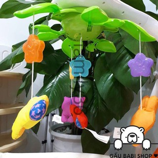 [HÀNG HOT] Treo nôi cũi hình các con thú vui nhộn Winfun 0845 hàng HOT