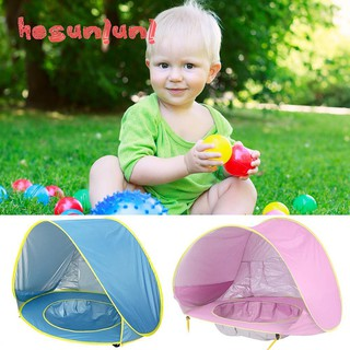 •▪•Cartoon Auto Quick Opening Awning Portable Pool Tents Sunshelters for Kids