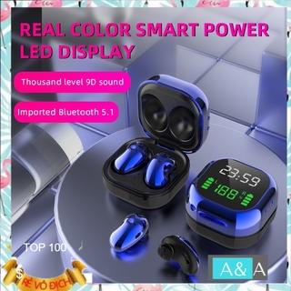 Tai Nghe Bluetooth Không Dây S6 Plus Tws 5.1 Có Đèn Led
