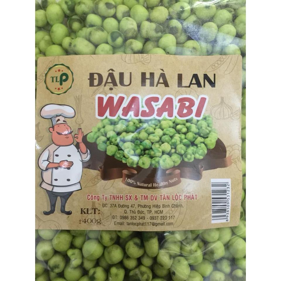 400gr đậu hà lan wasabi ăn liền