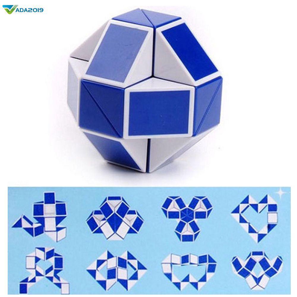 Snake Speed Cubes Twist Puzzle Đồ chơi cho Trẻ em Túi bên Chất độn Đảng Ủng hộ ♛