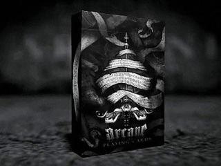 Bộ bài tây Black Arcane Playing Cards [ Hàng Mỹ ]