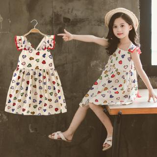 Đầm xòe công chúa xinh xắn dành cho bé gái