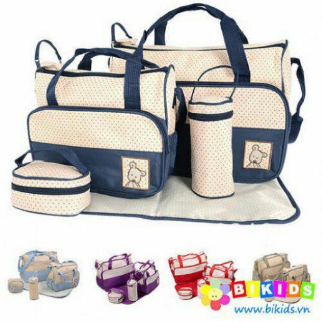 Set Túi cho mẹ và bé - 2453769 , 69946173 , 322_69946173 , 195000 , Set-Tui-cho-me-va-be-322_69946173 , shopee.vn , Set Túi cho mẹ và bé