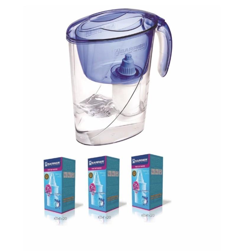 Combo Sử dụng 1 năm ca lọc nước Barrier cho gia đình 2 người (1ECO-BL+3 FC-STD) (Chính hãng Liên ban