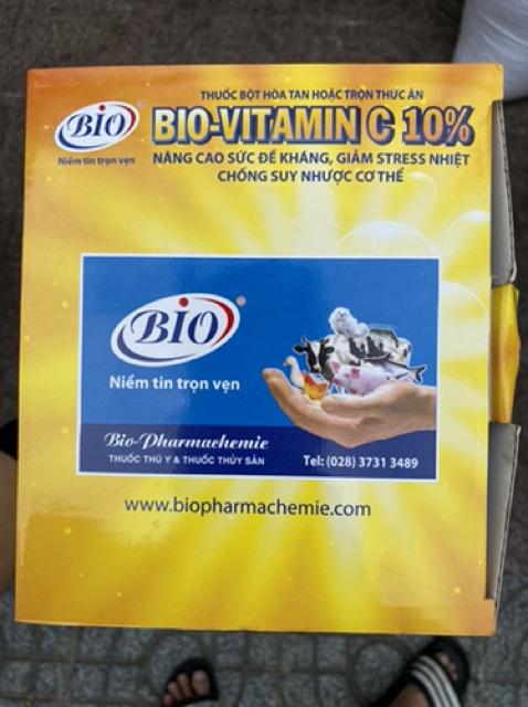 [Mã 267FMCGSALE giảm 8% đơn 500K] BIO- VITAMIN C10% nâng cao đề kháng - giảm stress-chống suy nhược cho thú cưng 100g