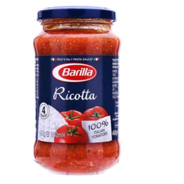 Sốt cà chua Ricotta Barilla 400g