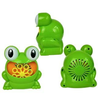 Automatic Bubbles Machine Frog Kids Bubble Maker Fun Gift Toys Plastic Design