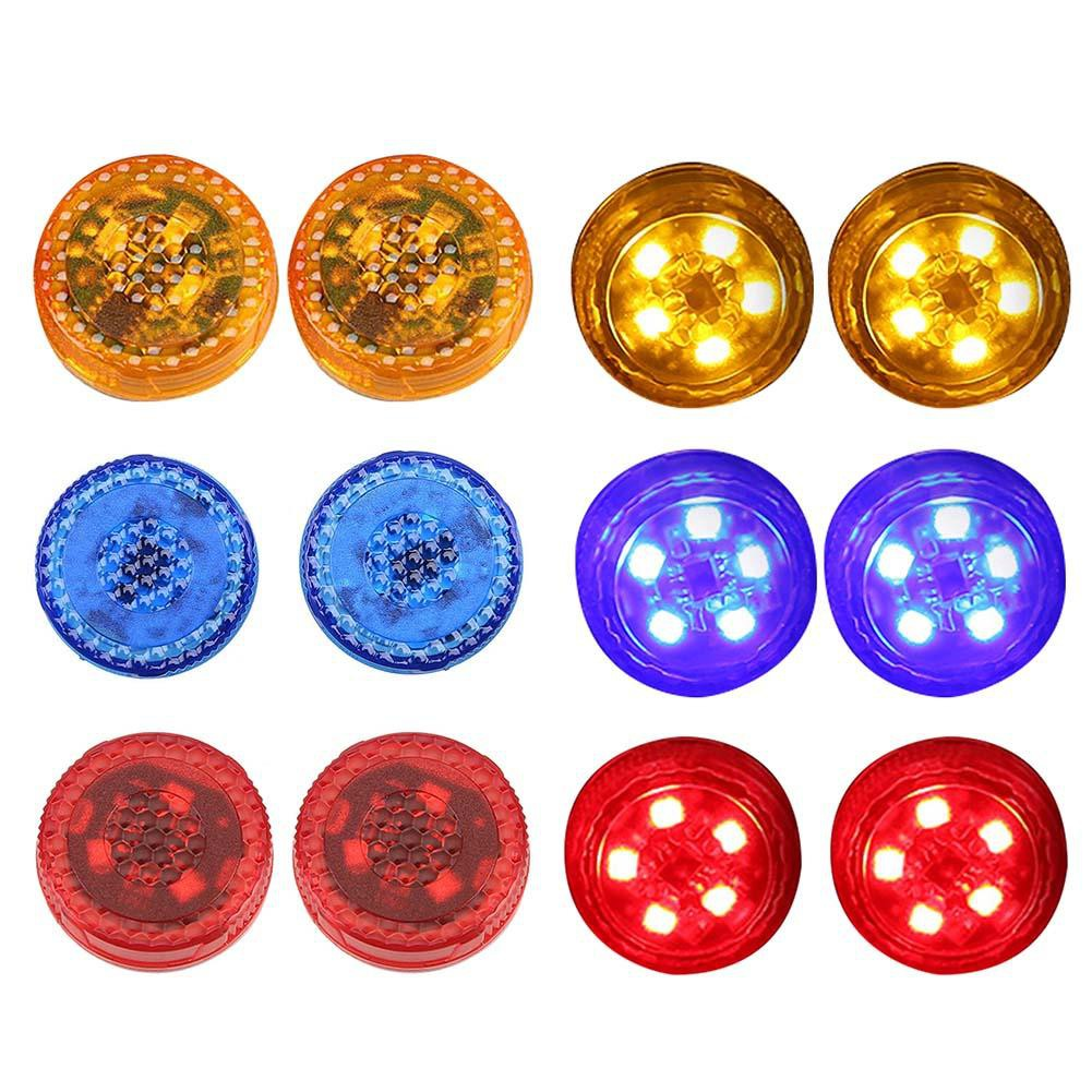 2pcs Wireless LED Car Door Warning Lights Anti Rear-end Collision Lamps Mkchung.vn