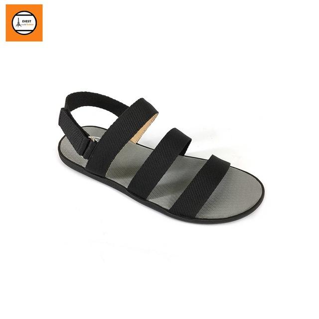 Giày sandal nam quai ngang thời trang Evest A253