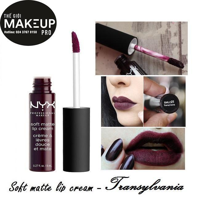 Son kem NYX Soft Matte Lip Cream SMLC21 Transylvania - 3113864 , 667851146 , 322_667851146 , 230000 , Son-kem-NYX-Soft-Matte-Lip-Cream-SMLC21-Transylvania-322_667851146 , shopee.vn , Son kem NYX Soft Matte Lip Cream SMLC21 Transylvania