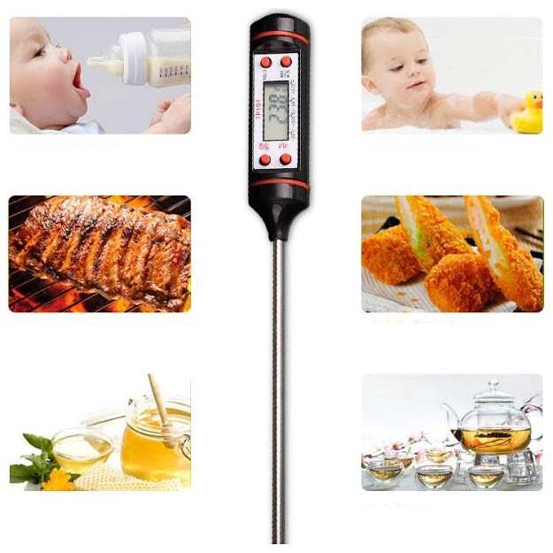 Nhiệt kế đo nhiệt độ nước, sữa, thực phẩm