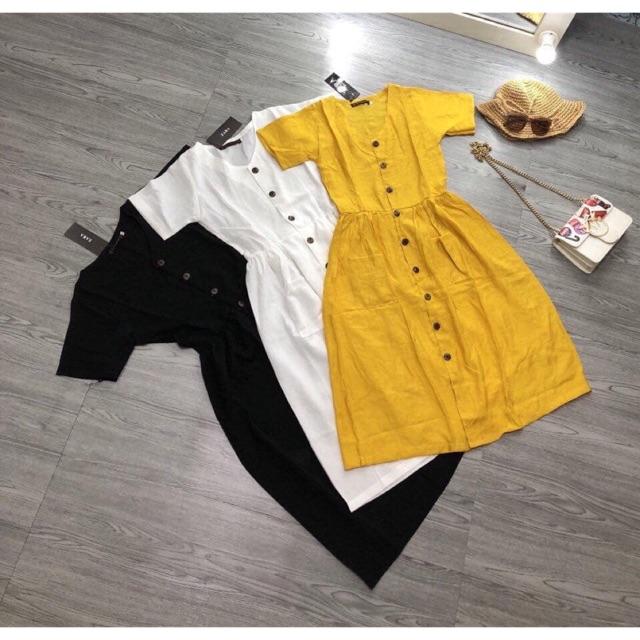 Váy Voan duy nhất màu vàng