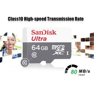 [Chính hãng] Thẻ nhớ Sandisk Ultra 64G tốc độ 80MB S. BH 05 năm thumbnail