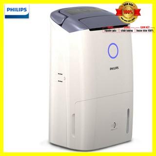 Máy lọc không khí kiêm hút ẩm cao cấp nhãn hiệu Philips DE5206/00 Công suất 355W, Cảm biến không khí 4 màu – BH 12 tháng