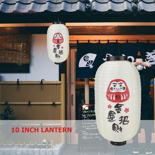 Đèn Lồng Tre-Ready 10 Inch Phong Cách Nhật Bản Trang Trí Nhà Hàng
