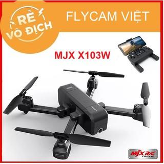 [GIÁ HỦY DIỆT] Máy Bay Flycam MJX X103W Camera 2K Chống Rung Quang Học – 2 GPS – Cánh Gấp Nhỏ Gọn – Bay 15 Phút