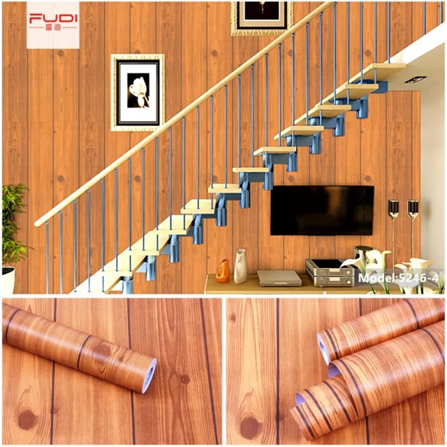10 mét giấy dán tường giả vân gỗ khổ rộng 45 cm keo sẵn - 3588222 , 1266556123 , 322_1266556123 , 105000 , 10-met-giay-dan-tuong-gia-van-go-kho-rong-45-cm-keo-san-322_1266556123 , shopee.vn , 10 mét giấy dán tường giả vân gỗ khổ rộng 45 cm keo sẵn