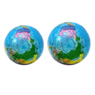 Squeeze PU Slow Rebound Stress Relief Toy Globe Palm Ball Anti Stress Toys KidsDreamMall