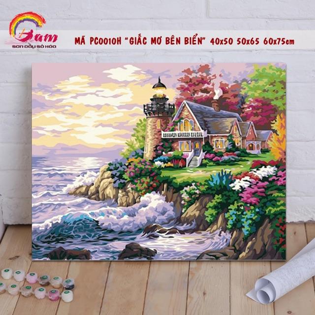 Tranh sơn dầu số hoá tự tô treo tường - Mã PC0010H Giấc mơ bên biển - 40x50cm có khung - 3366756 , 1012391017 , 322_1012391017 , 178000 , Tranh-son-dau-so-hoa-tu-to-treo-tuong-Ma-PC0010H-Giac-mo-ben-bien-40x50cm-co-khung-322_1012391017 , shopee.vn , Tranh sơn dầu số hoá tự tô treo tường - Mã PC0010H Giấc mơ bên biển - 40x50cm có khung