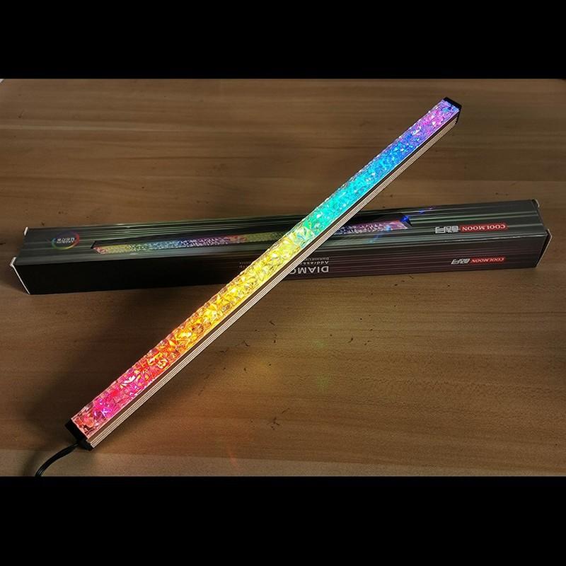 Thanh Led RGB Coolmoon Royal Sáng 2 Mặt - Đồng Bộ Hub Coolmoon