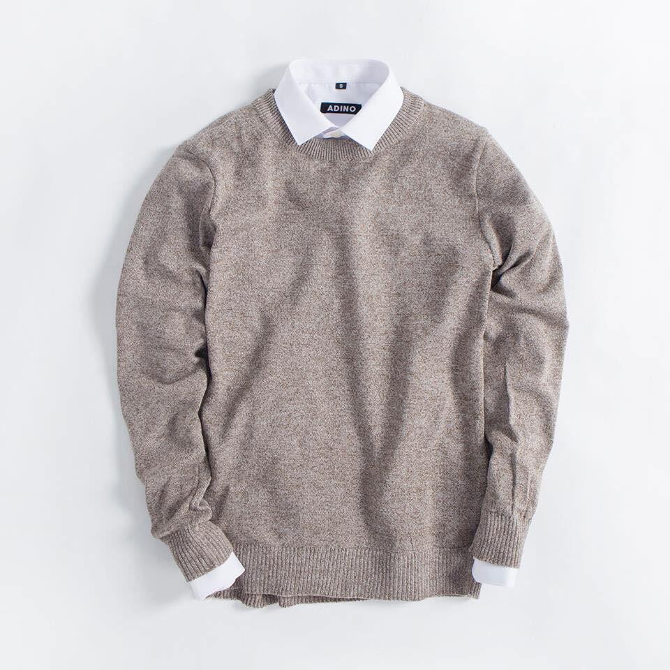 Áo len nam Không cổ thời trang