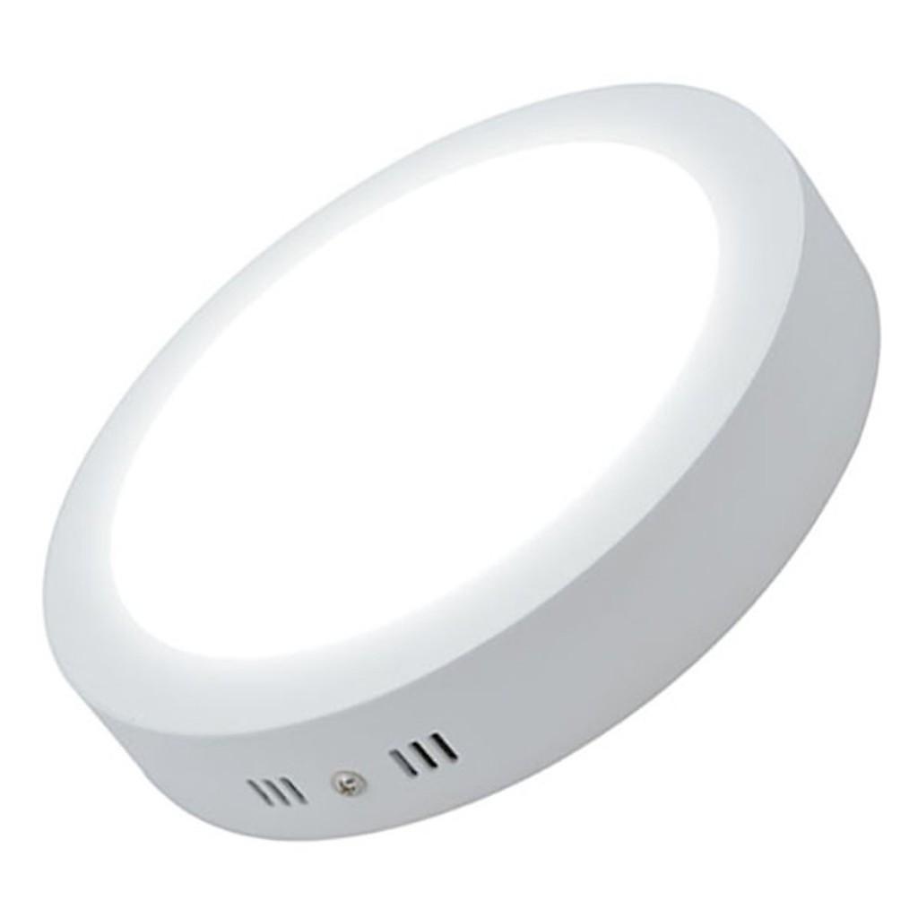 Combo10 đèn ốp trần nổi 18W Tròn 2 màu ánh sáng độc đáo