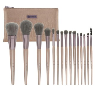 Bộ Cọ Trang Điểm BHCOSMETICS Lavish Elegance 15 Piece Brush Set With Cosmetic Bag thumbnail