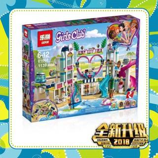 [Siêu-Rẻ] Lego Friend lepin 01068 lele 37086 Công viên nước Heartlake friends