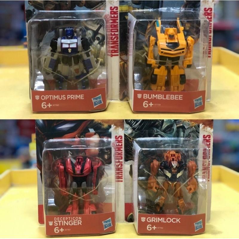Combo 4 Robot Transformers Age of Extinction Mini -(Full box)