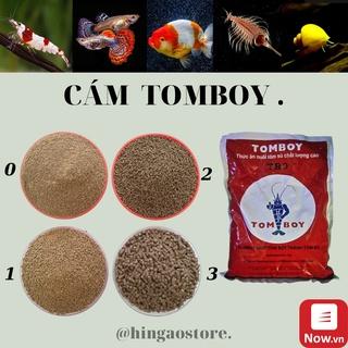 Cám TOMBOY TB0, TB1, TB2, TB3 - Thức ăn cho cá con, bobo, artemia sinh khối , tôm (hàng chiết) Hingaostore. thumbnail