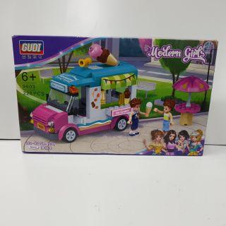Lego lắp ghép xe kem 9603
