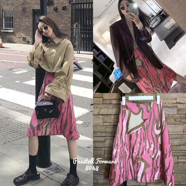 🌟 Korea printed colorful skirt กระโปรงผ้าปริ้นลาย สีสวยมากๆๆค่าตัวนี้