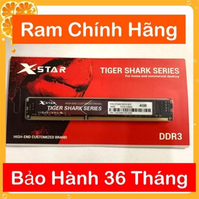 RAM 4GB DDR3 Mới BUSS 1600 PC BẢO HÀNH 36 Tháng