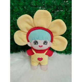 Set hoa tết cho doll 20cm