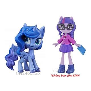 Ngựa Princess Luna & Búp bê Twilight Sparkle kèm phụ kiện – My Little Pony Fashion Squad