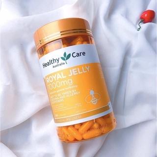 Viên uống sữa ong chúa Healthy Care Royal Jelly 1 thumbnail