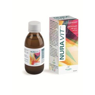 NURAVIT – Bộ 10 Vitamin với Sắt và Lysine tăng cường sức để kháng, kích thích ăn ngon