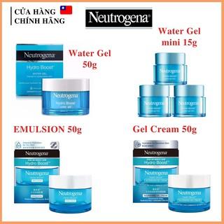 Kem Dưỡng Ẩm Neutrogena Hydro Boost Water Gel, Emulsion, Gel Cream, Emulsion cho da dầu và da khô thumbnail
