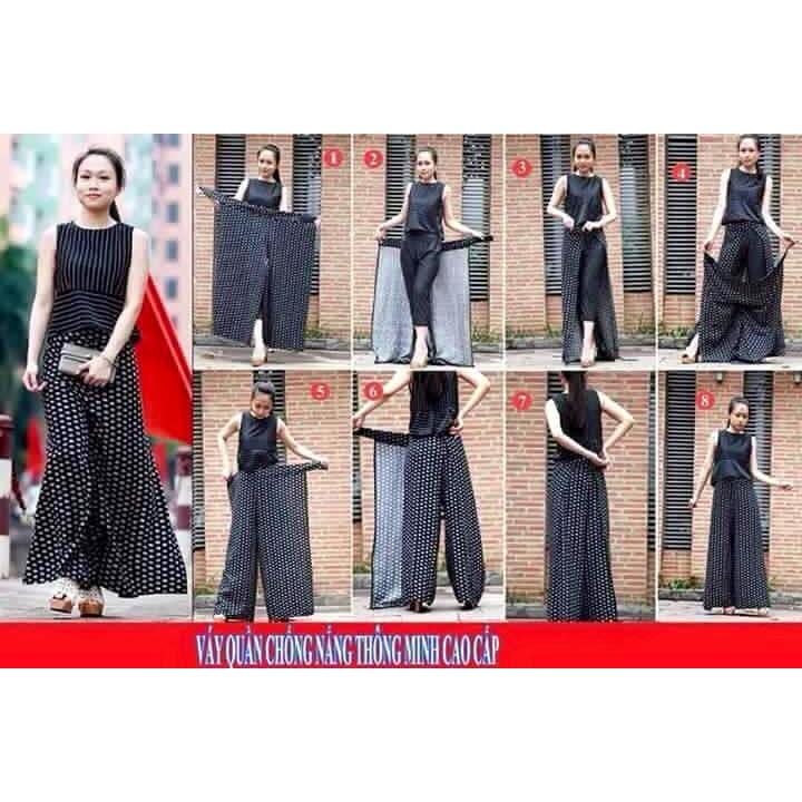Váy Chống Nắng Thông Minh Dạng Quần (giao màu ngẫu nhiên)