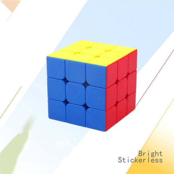 G3 Speed Cube Brain Teaser 3×3 Stickerless Twisty Puzzle Competition Magic Cube