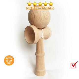 Đồ chơi gỗ Nhật-Kendama cao cấp-Nhựa hoặc Gỗ-Đồ chơi hoạt động thể chất-linh hoạt-tập trung thumbnail