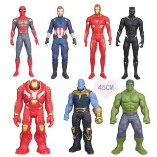 🔥🔥 Mô Hình Size Lớn 45cm Siêu Anh Hùng Marvel Avengers 🔥🔥 Huklbuster Thanos Hulk Iron Man Spider Man Black Panther