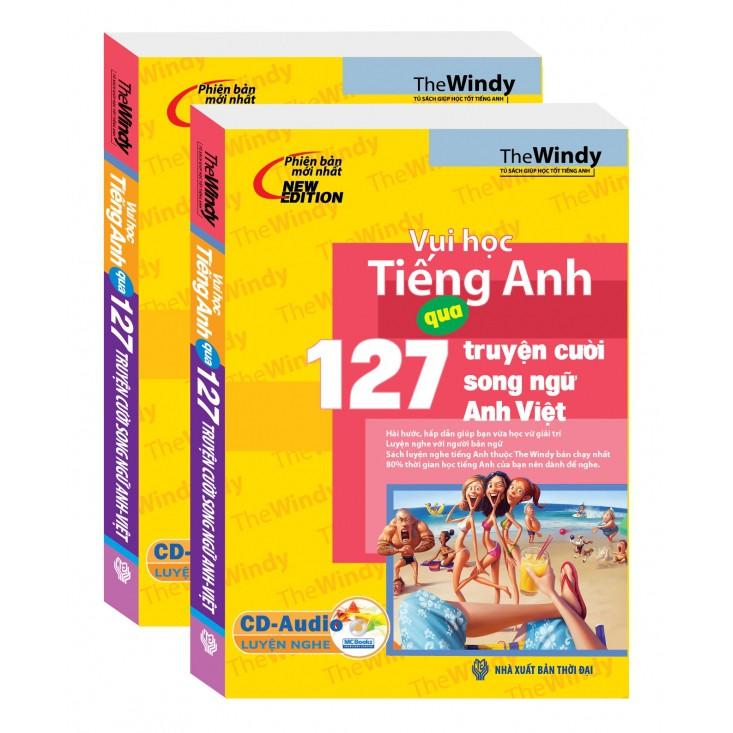 Vui học tiếng Anh qua 127 truyện cười song ngữ Anh - Việt (kèm CD)