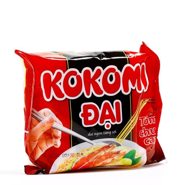Mì gói Kokomi Đại vị Tôm Chua Cay - 75g - thùng 30 gói