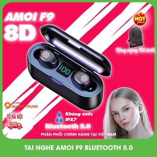 [BẢN QUỐC TẾ 2021]Tai nghe Amoi F9 cảm ứng ,tai nghe bluetooth 5.0 cực hay,pin trâu 280h Tặng túi lưới