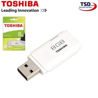 [Mã ELFLASH5 giảm 20K đơn 50K] USB TOSHIBA 8GB U202 Chính Hãng Bảo Hành 24 Tháng