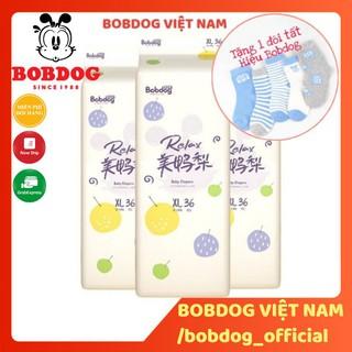 Thùng Bỉm Bobdog Relax dán quần S104 M96 L88-M80 L76 XL72 XXL68 miếng thumbnail