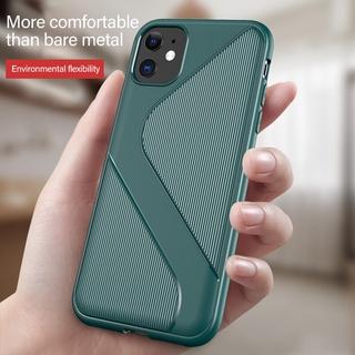Ốp lưng silicon chống trượt sang trọng cho iPhone 12 Mini 11 Pro Max XR X XS MAX Vỏ bảo vệ siêu mỏng Vỏ cho iPhone 6 6S 7 8 Plus SE2020 Vỏ chống va đập